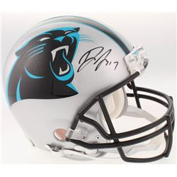 Devin Funchess Signed Carolina Panthers Full-Size Authentic On-Field Helmet (JSA COA)