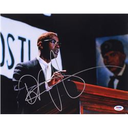 "Denzel Washington Signed ""Malcolm X"" 11x14 Photo (PSA COA)"