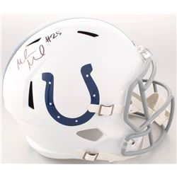 Marlon Mack Signed Indianapolis Colts Full-Size Speed Helmet (Schwartz Sports COA)