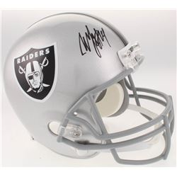 Marshawn Lynch Signed Oakland Raiders Full-Size Helmet (Radtke COA)