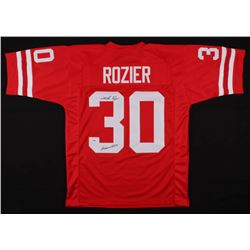 "Mike Rozier Signed Nebraska Cornhuskers Jersey Inscribed ""Heisman 1983"" (PSA Hologram)"