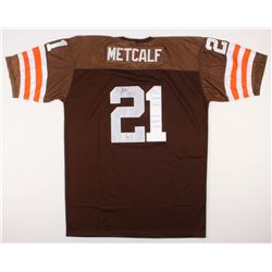 Eric Metcalf Signed Clevland Browns Jersey (PSA Hologram)