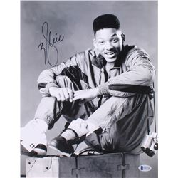 "Will Smith Signed ""The Fresh Prince of Bel-Air"" 11x14 Photo (Beckett COA)"