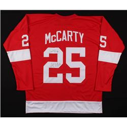 "Darren McCarty Signed Detriot Red Wings Jersey Inscribed ""Sweet Revenge"" (JSA COA)"