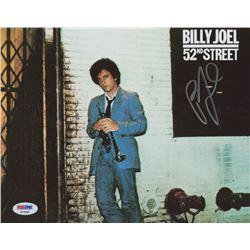"Billy Joel Signed ""52nd Street"" 8x10 Photo (PSA COA)"
