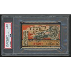 Authentic 1948 Indianapolis 500 Ticket Stub (PSA Encapsulated)