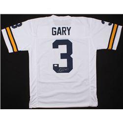Rashan Gary Signed Michigan Wolverines Jersey (JSA COA)
