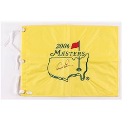Arnold Palmer Signed 2006 Masters Tournament Golf Pin Flag (JSA LOA)