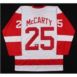 "Darren McCarty Signed Detroit Red Wings Jersey Inscribed ""Sweet Revenge"" (JSA COA)"