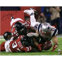 Julian Edelman Signed New England Patriots 16x20 Photo (Fanatics Hologram)
