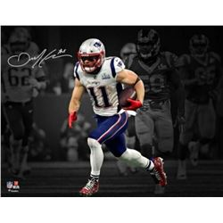 Julian Edelman Signed New England Patriots 11x14 Photo (Fanatics Hologram)