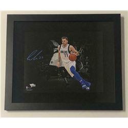 Luka Doncic Signed Dallas Mavericks 11x14 Custom Framed Photo (Fanatics Hologram)