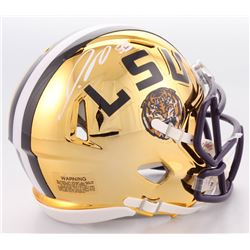 Jamal Adams Signed LSU Tigers Chrome Speed Mini-Helmet (JSA COA)
