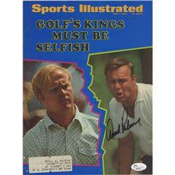 Arnold Palmer Signed 1970 Sports Illustrated Magazine (JSA COA)