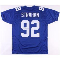 Michael Strahan Signed New York Giants Jersey (JSA COA)
