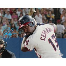 "Dennis Haysbert Signed ""Major League"" 11x14 Photo (Beckett COA)"