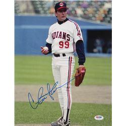 """Charlie Sheen Signed """"Major League"""" 11x14 Photo (PSA COA)"""