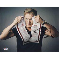Gordon Ramsay Signed 11x14 Photo (PSA COA)