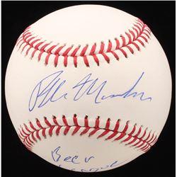 "Ralph Macchio Signed OML Baseball Inscribed ""Beer League"" (JSA COA)"