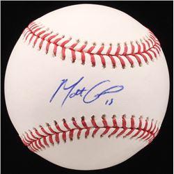 Matt Carpenter Signed OML Baseball (JSA COA)