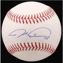 Jacob deGrom Signed OML Baseball (JSA COA)