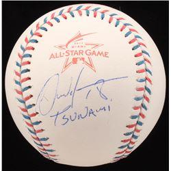 "Carlos Martinez Signed 2017 All-Star Game Baseball Inscribed ""Tsunami"" (JSA COA)"