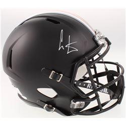 Cris Carter Signed Ohio State Buckeyes Full-Size Speed Helmet (JSA COA)