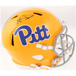 Aaron Donald Signed Pittsburgh Panthers Full-Size Speed Helmet (JSA COA)