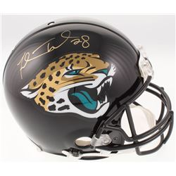 Fred Taylor Signed Jacksonville Jaguars Full-Size Authentic On-Field Helmet (Beckett COA)