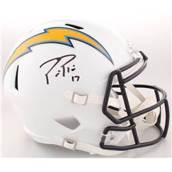 Philip Rivers Signed Los Angeles Chargers Full-Size Speed Helmet (Radtke COA)