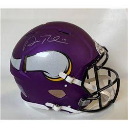 Adam Thielen Signed Minnesota Vikings Full-Size Authentic On-Field Speed Helmet (Beckett COA)