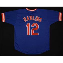 """Ron Darling Signed New York Mets Throwback Jersey Inscribed """"1986 WSC"""" (JSA Hologram)"""