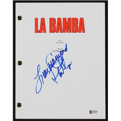 "Lou Diamond Phillips Signed "" La Bamba"" Full Movie Script (Beckett COA)"