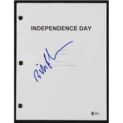 "Bill Pullman  Signed ""Independence Day"" Full Movie Script (Beckett COA)"