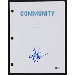 "Alison Brie Signed ""Community"" Pilot Script (Beckett COA)"