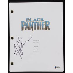 """Andy Serkis Signed """"Black Panther"""" Full Movie Script (Beckett COA)"""