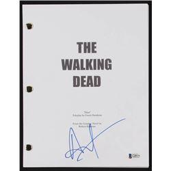 "Andrew Lincoln Signed ""The Walking Dead"" Pilot Script (PSA COA)"