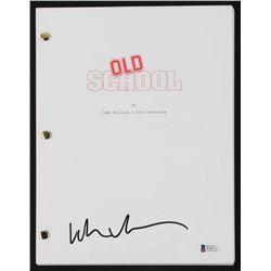 """Luke Wilson Signed """"Old School"""" Full Movie Script (Beckett COA)"""