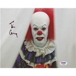 "Tim Curry Signed ""It"" 8x10 Photo (PSA COA)"
