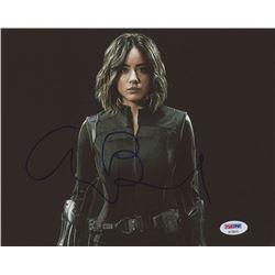 """Chloe Bennet Signed """"Agents of S.H.I.E.L.D."""" 8x10 Photo (PSA COA)"""
