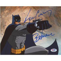 "Kevin Conroy Signed ""Batman: The Animated Series"" 8x10 Photo Inscribed ""Batman"" (PSA COA)"