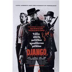 "Jamie Foxx Signed ""Django Unchained"" 11x17 Movie Poster Photo (JSA COA)"