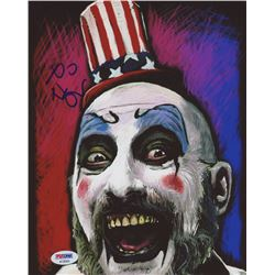 "Sid Haig Signed ""House of 1000 Corpses"" 8x10 Photo (PSA COA)"
