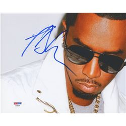 P. Diddy Signed 8x10 Photo (PSA COA)