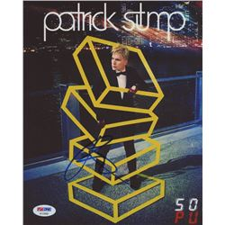 Patrick Stump Signed 8x10 Photo (PSA COA)