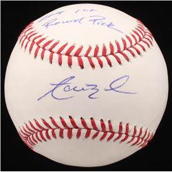 "Aaron Nola Signed OML Baseball Inscribed ""2019 1st Round Pick"" (JSA COA)"