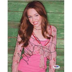 Miley Cyrus Signed 8x10 Photo (PSA COA)
