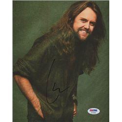 Lars Ulrich Signed 8x10 Photo (PSA COA)