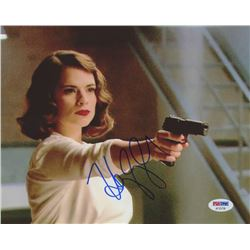 """Hayley Atwell Signed """"Captain America: The First Avenger"""" 8x10 Photo (PSA COA)"""
