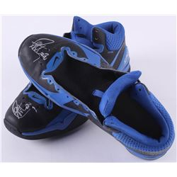 Stephen Curry 2012 Game-Used   Signed Nike Basketball Shoes - Photomatched to Season High Game (JSA